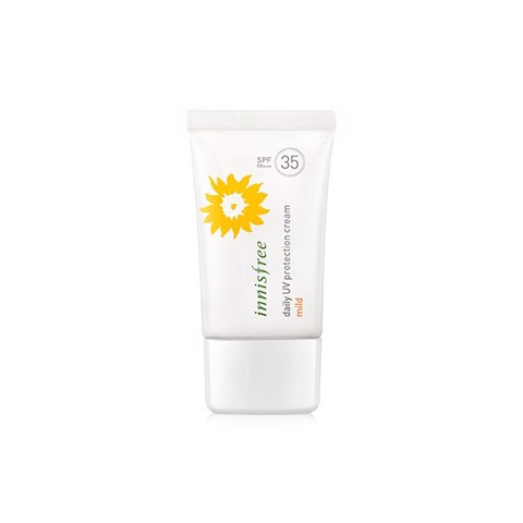 "<p><span data-sheets-value=""{&quot;1&quot;:2,&quot;2&quot;:&quot;Innisfree Daily UV Protection Cream Mild SPF35 PA++&quot;}"" data-sheets-userformat=""{&quot;2&quot;:14977,&quot;3&quot;:{&quot;1&quot;:0},&quot;10&quot;:2,&quot;12&quot;:0,&quot;14&quot;:{&quot;1&quot;:2,&quot;2&quot;:0},&quot;15&quot;:&quot;Calibri&quot;,&quot;16&quot;:14}""> - Chống nắng cho da nhạy cảm Innisfree Daily UV Protection Cream Mild SPF35 PA++"