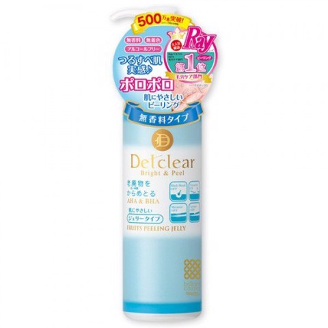 <p> - Gel tẩy tế bào chết Detclear Bright & Peel Peeling Jelly (Unscented)
