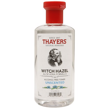 <p><span> - Nước hoa hồng Thayers Unscented Witch Hazel