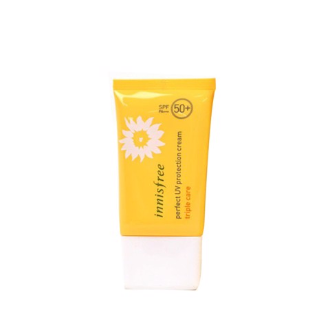 <p> - Kem chống nắng chống trôi Innisfree Perfect UV Protection Cream Triple Care SPF50+