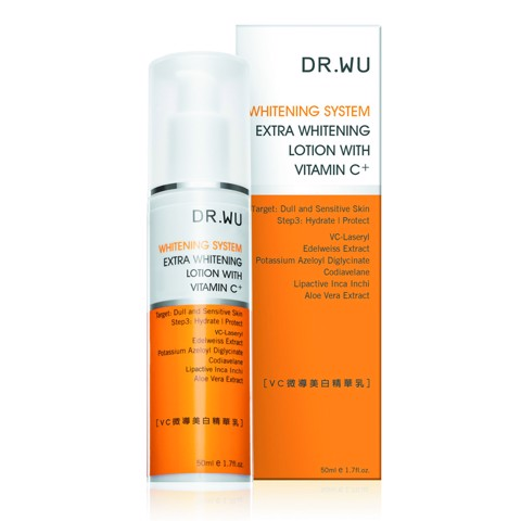 <p> - Sữa dưỡng trắng da Dr. Wu Extra Whitening Lotion With Vitamin C+