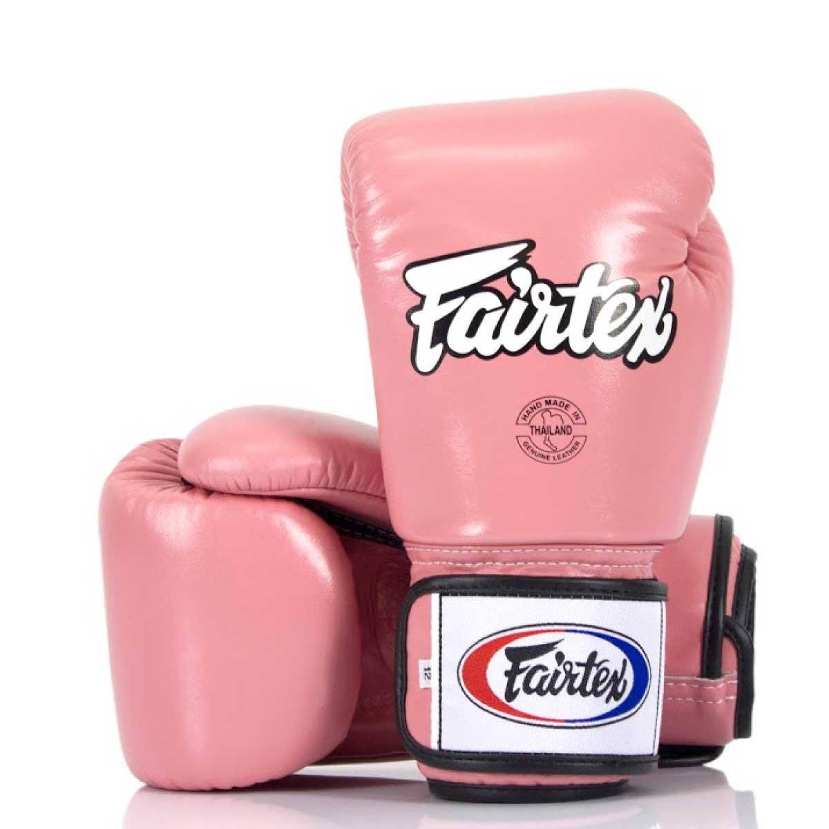 GĂNG TAY FAIRTEX BGV1 TIGHT FIT MUAY THAI/BOXING GLOVES - PINK