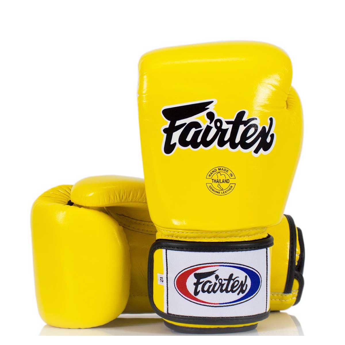 GĂNG TAY FAIRTEX BGV1 TIGHT FIT MUAY THAI/BOXING GLOVES - YELLOW