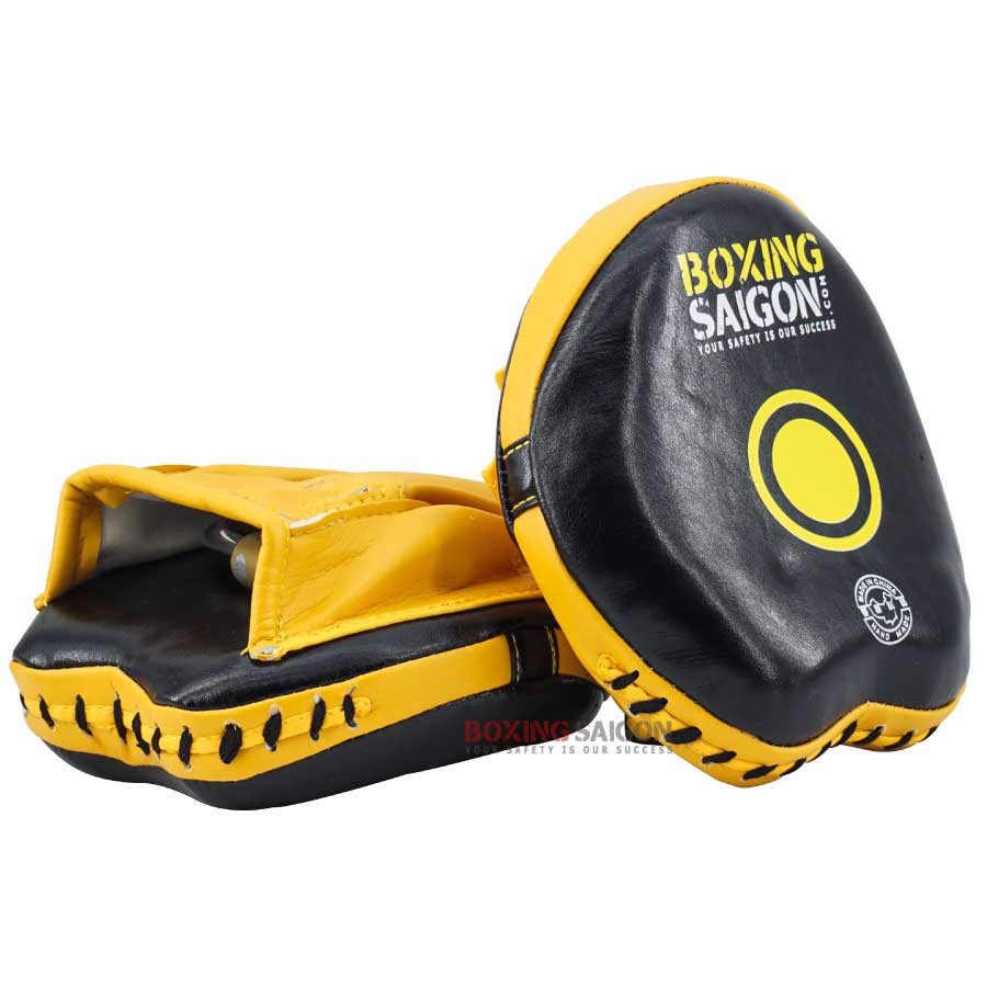 ĐÍCH ĐẤM TỐC ĐỘ BOXING SAIGON CURVED SPEED MITTS - YELLOW