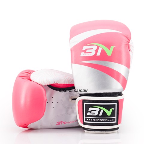 Găng Tay Bn Boxing Gloves - Pink