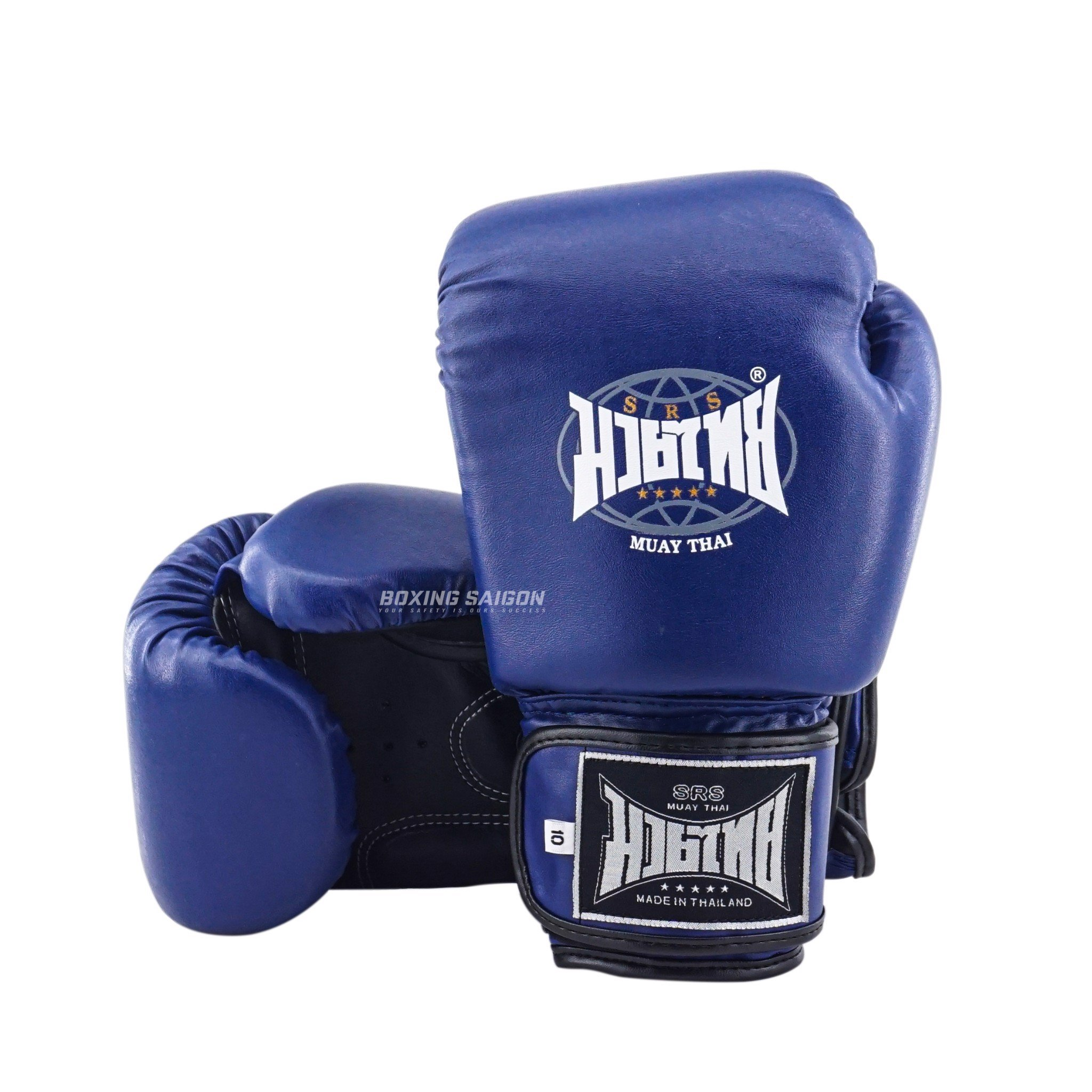 Găng Tay Srs Muay Thai & Boxing Gloves - Blue