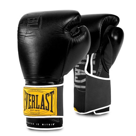 GĂNG TAY EVERLAST 1910 CLASSIC TRAINING GLOVES - BLACK