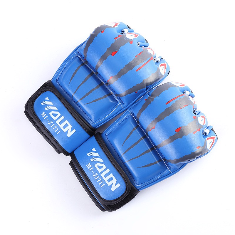 GĂNG TAY WOLON MMA CLAWS 2.0 - BLUE