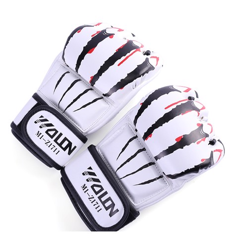 Găng Tay Wolon Mma Claws 2.0 - White