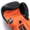 GĂNG TAY TWINS BGVL-6 SPECIAL NEW STYLES BOXING GLOVES - BLACK/ORANGE