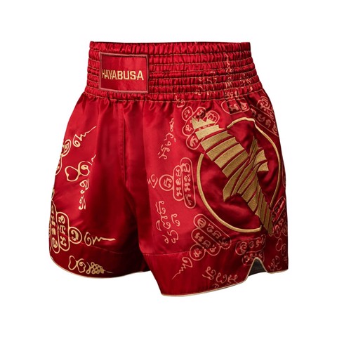 QUẦN HAYABUSA FALCON MUAY THAI SHORTS - RED