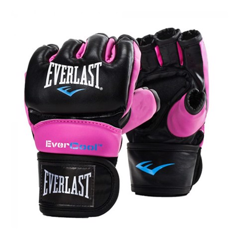 GĂNG TAY EVERLAST WOMEN'S EVERSTRIKE TRAINING MMA GLOVES - BLACK/PINK
