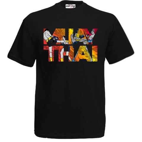ÁO BORN TO BE MUAY THAI T-SHIRT MT-8049