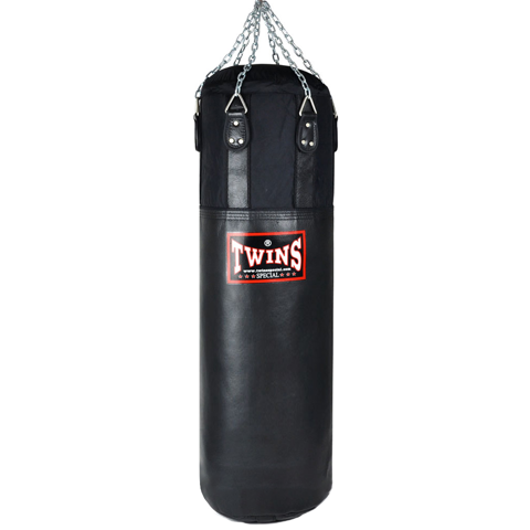 Bao Cát Treo Twins Hbnl1 150cm Leather-Nylon Heavy Bag - Black