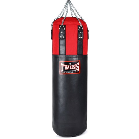 Bao Cát Treo Twins Hbnl1 150cm Leather-Nylon Heavy Bag - Black/Red