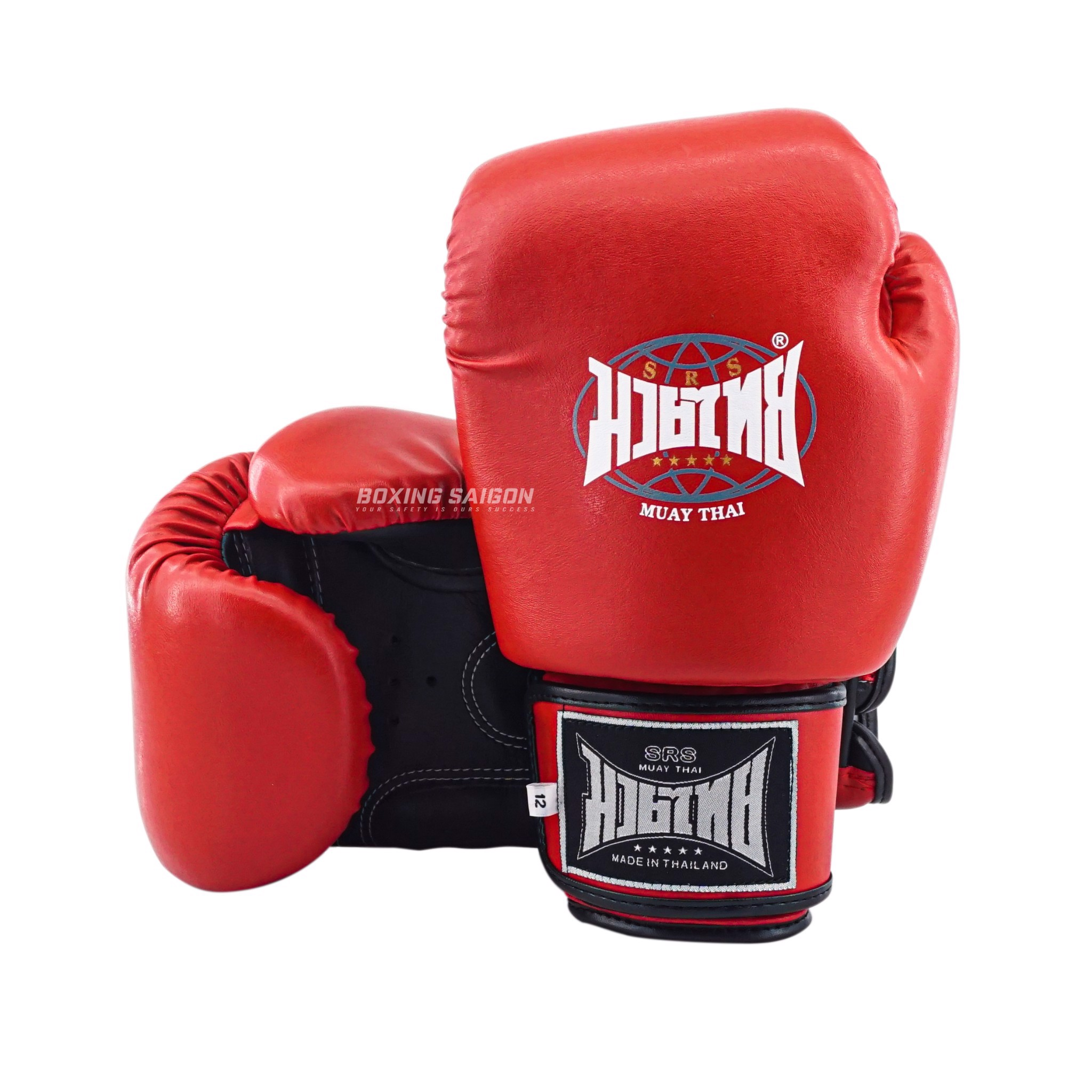 Găng Tay Srs Muay Thai & Boxing Gloves - Red
