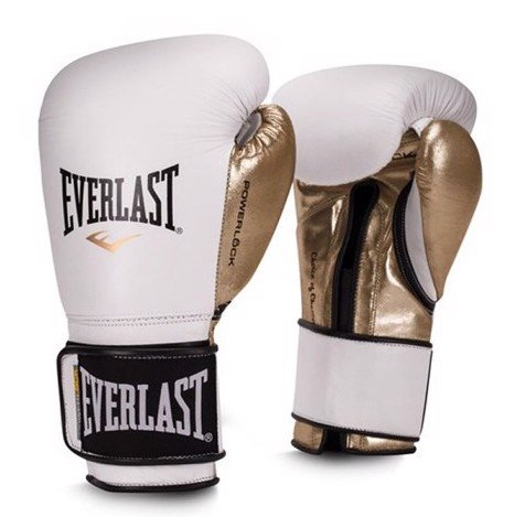 Găng Tay Everlast Powerlock Hook & Loop Training Gloves - White
