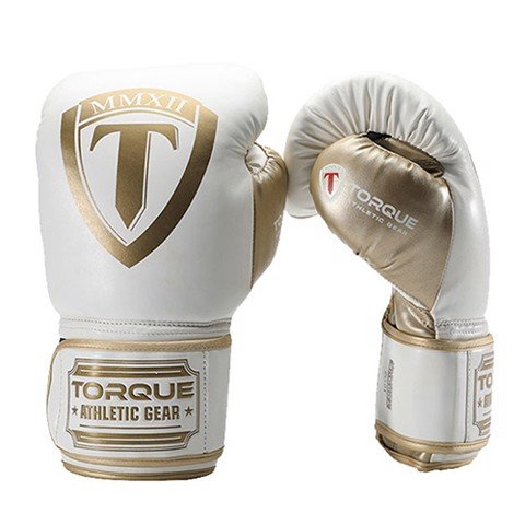 Găng Tay Torque 2.0 Boxing Gloves  - White/Gold
