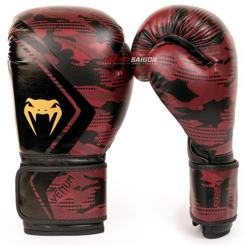 Găng Tay Venum Defender Contender 2.0 Boxing Gloves - Black/Red