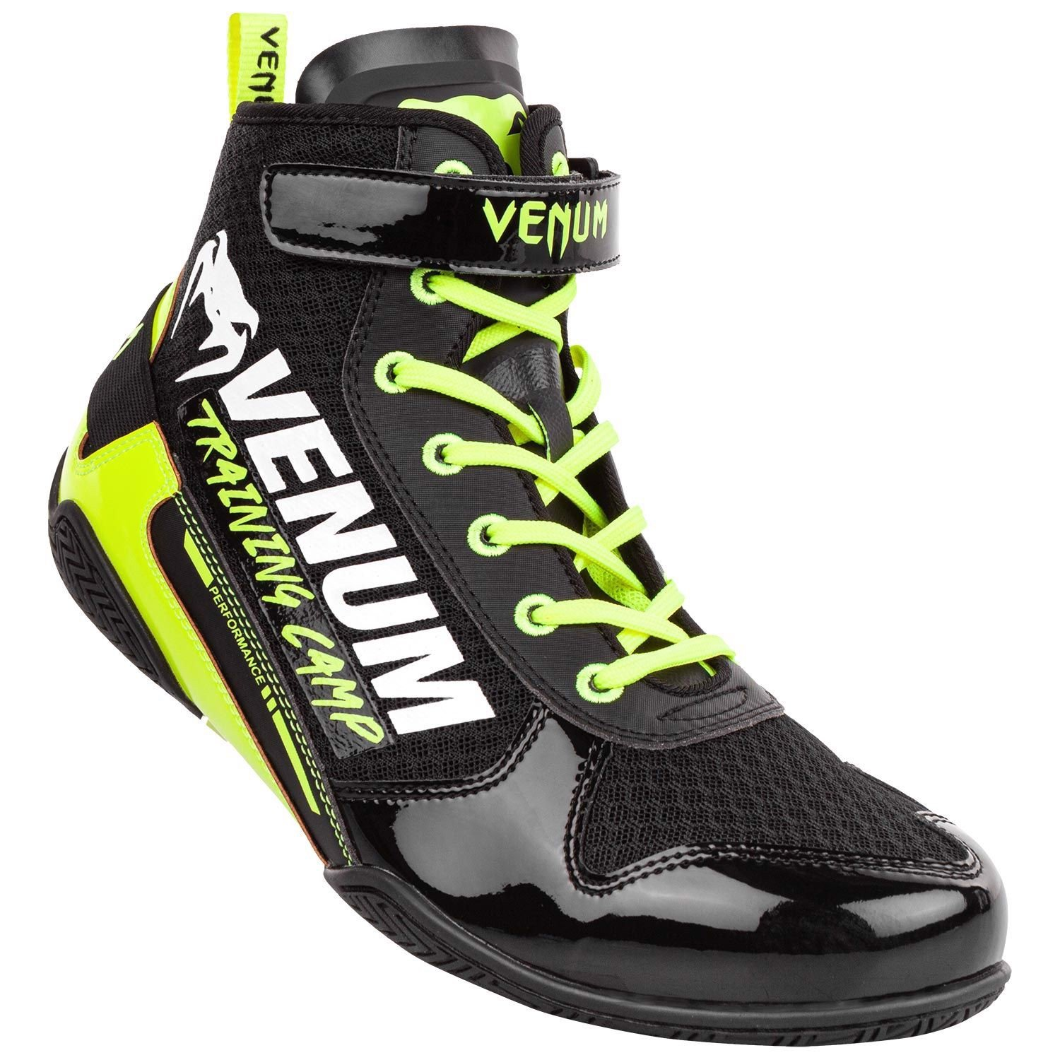 GIÀY VENUM GIANT LOW VTC 2 EDITION BOXING SHOES - BLACK/NEO YELLOW