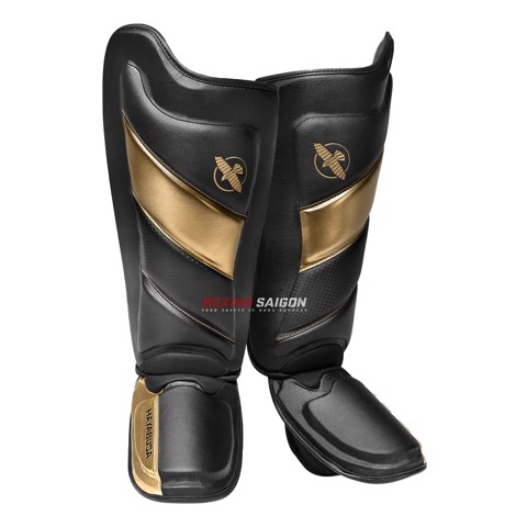 Bảo Hộ Chân Hayabusa T3 Striking Shin Guards - Black/Gold