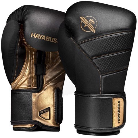 GĂNG TAY HAYABUSA T3 BOXING GLOVES - BLACK/GOLD