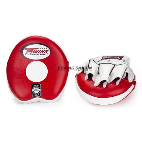 Đích Đấm Twins Pml-13 Curved Speed Mitts - Red/White