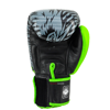 GĂNG TAY TWINS FBGV-50 VELCRO GLOVES (THAILAND LEATHER 100%) - GREEN/BLACK