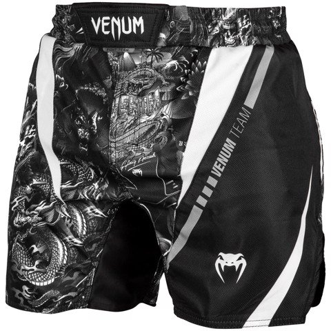 QUẦN MMA VENUM ART FIGHTSHORTS - BLACK/WHITE