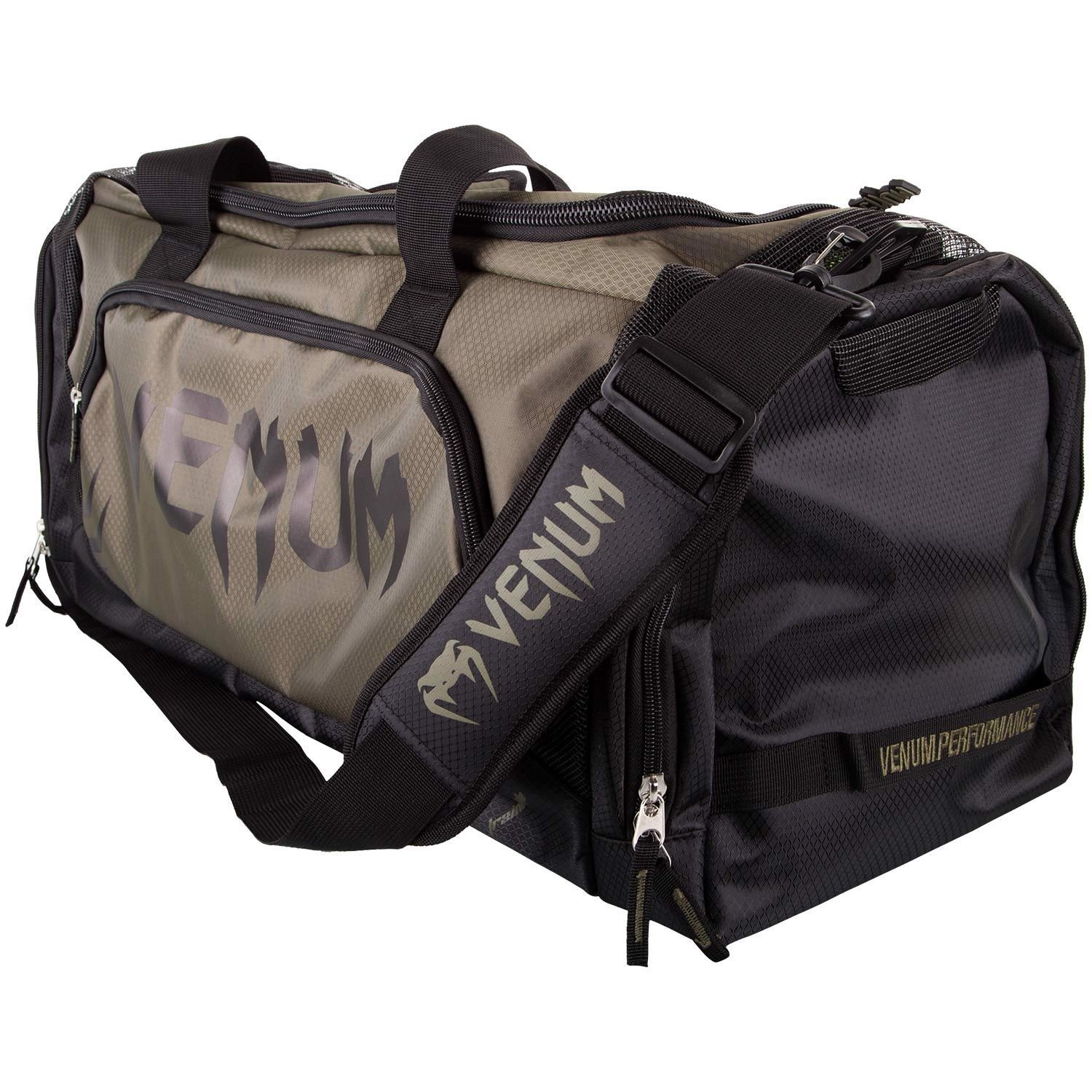 TÚI VENUM TRAINER LITE SPORTS BAG - KHAKI/BLACK