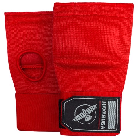 Băng Tay Xỏ Hayabusa Quick Gel Hand Wraps - Red