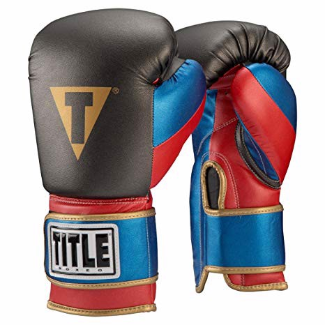 GĂNG TAY TITLE BOXEO MONEY METALLIC BAG GLOVES - GREY/RED