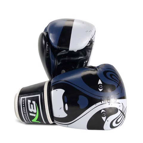 GĂNG TAY BN 2.0 BOXING GLOVES - BLACK/BLUE