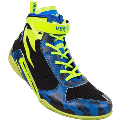 GIÀY VENUM GIANT LOW LOMA EDITION BOXING SHOES - BLUE/YELLOW