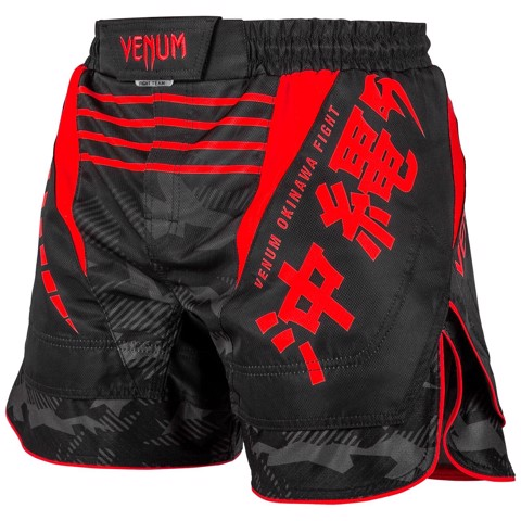 QUẦN MMA VENUM OKINAWA 2.0 FIGHTSHORTS - BLACK/RED