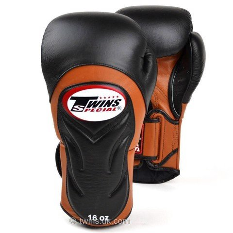 Găng Tay Twins Bgvl-6 Special New Styles Boxing Gloves - Black/Brown