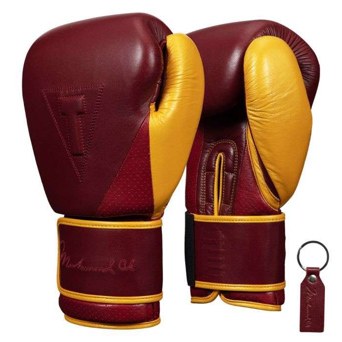 Găng Tay Title Ali Limited Edition Heavy Bag Gloves - Marron/Gold