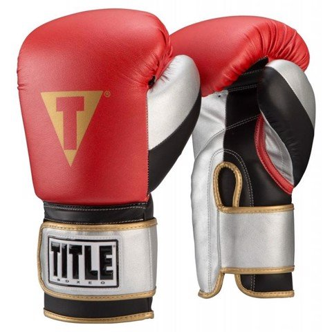 Găng Tay Title Boxeo Money Metallic Bag Gloves - Red/Black
