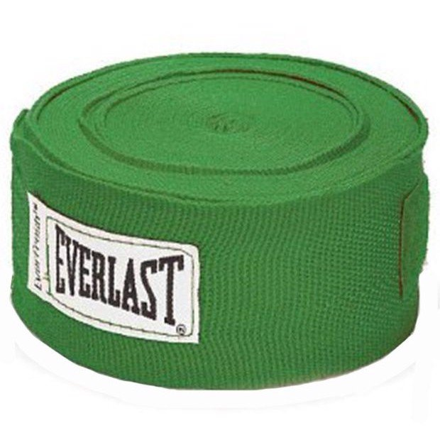 BĂNG QUẤN TAY EVERLAST PROFESSIONAL HAND WRAPS 180 GREEN - CO GIÃN