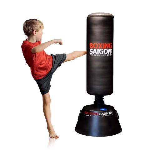 BAO CÁT ĐỨNG ĐẾ SẮT TRẺ EM BOXING SAIGON - 1M2