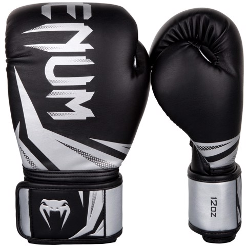 GĂNG TAY VENUM CHALLENGER 3.0 BOXING GLOVES - BLACK/SILVER