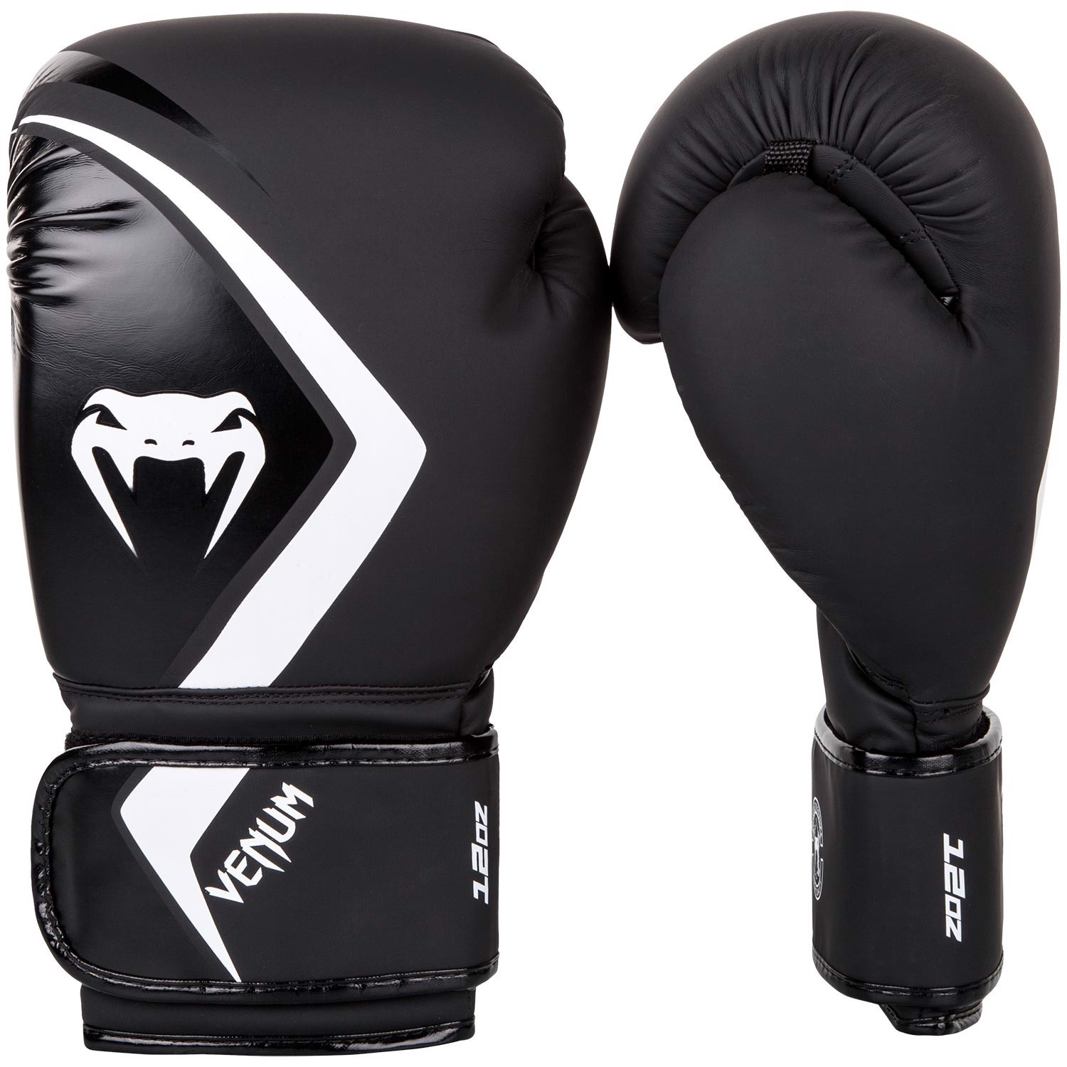 Găng Tay Venum Boxing Gloves Contender 2.0 - Black/Grey-White