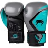 GĂNG TAY VENUM BOXING GLOVES CONTENDER 2.0 - GREY/TURQUOISE-BLACK