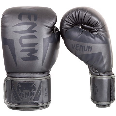 GĂNG TAY VENUM ELITE BOXING GLOVES - GREY/GREY