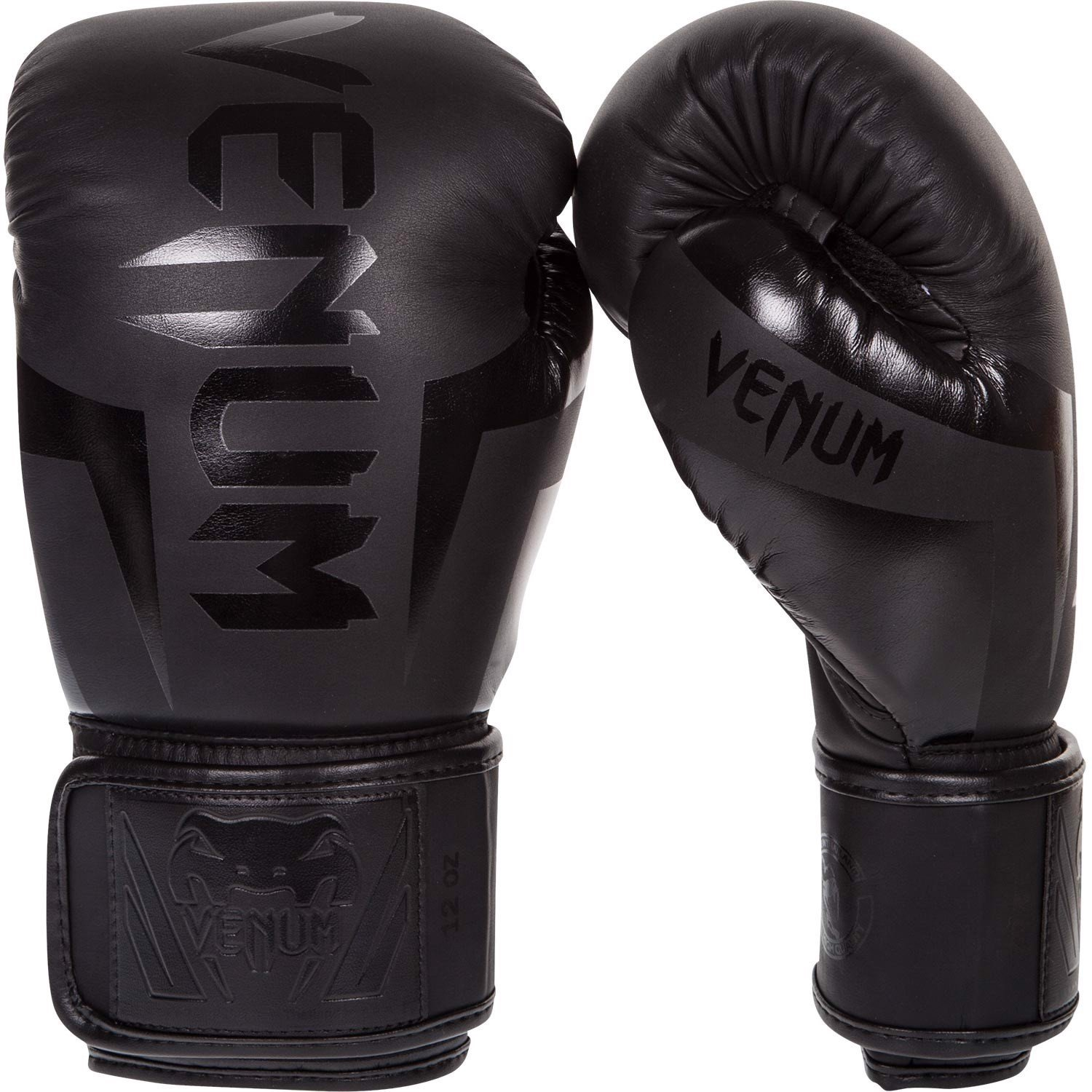 Găng Tay Venum Elite Boxing Gloves - Black/Black