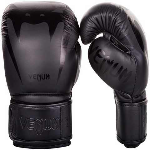 GĂNG TAY VENUM GIANT 3.0 BOXING GLOVES - BLACK/BLACK