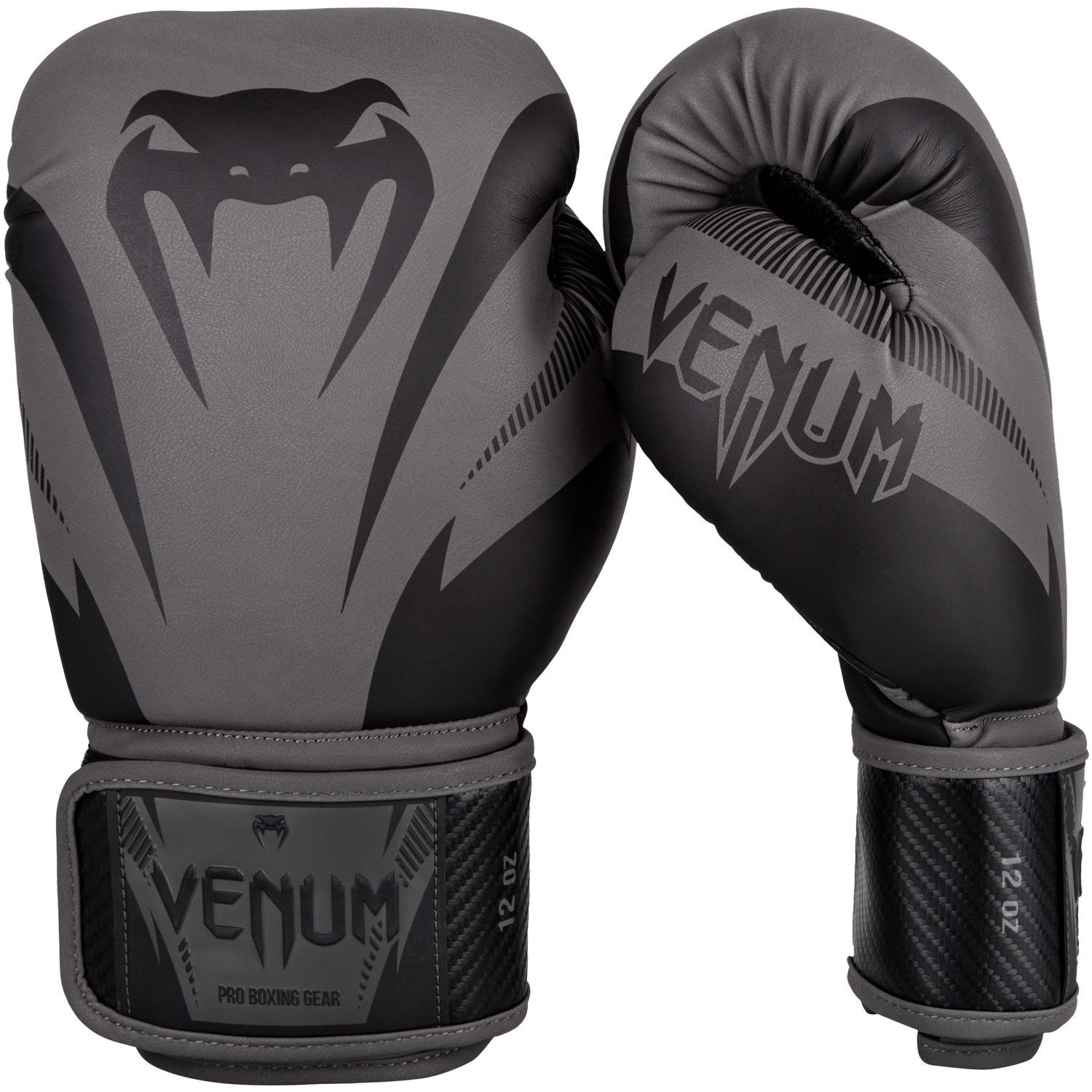 GĂNG TAY VENUM IMPACT BOXING GLOVES - GREY/BLACK