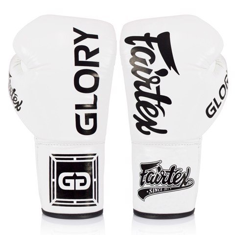 GĂNG TAY FAIRTEX BGLG1 X GLORY COMPETITION GLOVES - WHITE