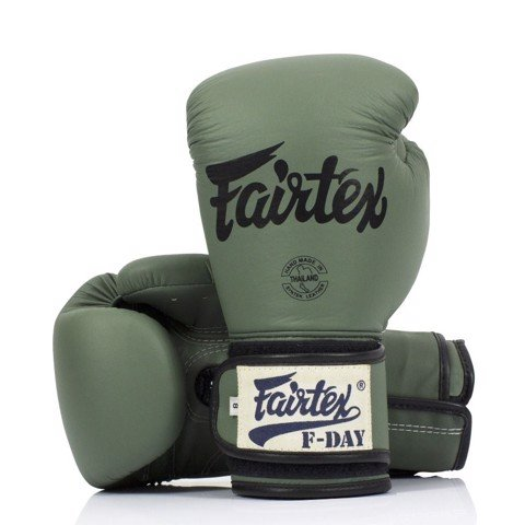 GĂNG TAY FAIRTEX BGV11 GREEN FDAY LIMITED EDITION MUAY THAI/BOXING GLOVES