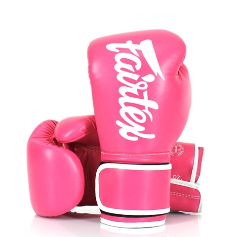Găng Tay Fairtex BGV14 Boxing Gloves - Pink/White